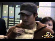 2012.12.18. KIM HYUN JOONG 김현중 fancam - Incheon Itn'l /Airport (From. Hon.../ TIME 1:02 - POSTED 18DEC2012 - 4K VIEWS.