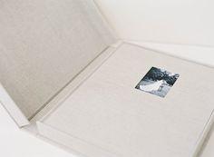 Heirloom Bindery Fine Art Albums Signature Album 12x14 Clamshell Protective Case