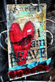 I am brave!!