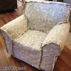 koltuk örtüsü kılıfı nasıl dikilir