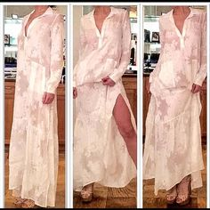 For Love and Lemons Breezy Maxi Dress Beautiful breezy maxi by FL&L. Semi-sheer. Ask any questions below! For Love and Lemons Dresses Maxi