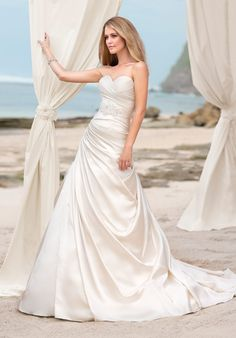 Check out this #weddingdress: 5601 by Ella Bridals via iPhone #TheKnotLB from #TheKnot
