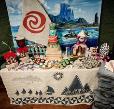 Moana Birthday Party Ideas | Photo 1 of 22
