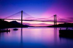 χαλκιδα γεφυρα   CHALKIDA - HIGH BRIDGE Greek Islands, World Traveler, Athens, Greece, Sunrise, To Go, Landscape, City, Nature