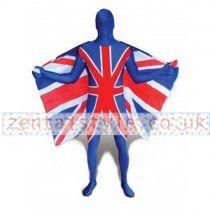 Lycra Spandex UK Flag Zentai Suit