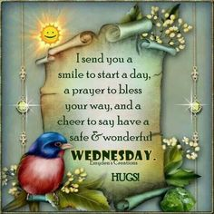I send you a smile to start a day...