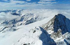 Widok ze szczytu Grossglockner