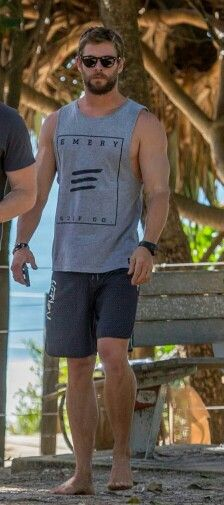 Chris Hemsworth My heart, and ouch, my nether region!