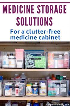 medicine storage ideas #organizemedicine Medicine Storage, Medicine Organization, Organization Hacks, Organize Medicine, Organizing, Door Storage, Storage Rack, Storage Solutions, Storage Ideas