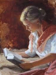 Bildergebnis für reading painting