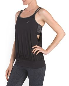 image of Serena Drawstring Bra Cami Top