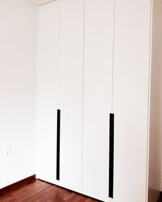 #wardrobe #blackandwhite #handles #convex #wood #design #interiordesign #home