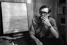 1989 Игорь Вулох за работой