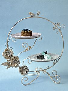 ケーキスタンド・ケーキプレート|輸入雑貨の通販【マテリ】