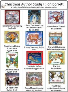 Christmas Book Bin Labels and Book Lists for Classroom Library pages and Class Library, Reading Library, Library Lessons, Kids Reading, Christmas Books, Christmas Themes, Christmas Activities For School, Book Bin Labels, Library Posters