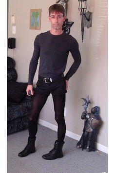 "Men's Aldo Boots, Tights, Tristan Ts, Shirts | ""Short shorts and ..."