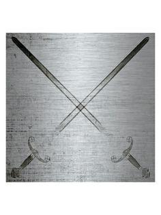 Cross Swords (Aluminum)