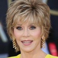 Jane Fonda short hairstyle