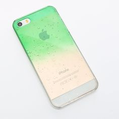 Coral Camel | 3D Raindrops Gradient Mobile Phone Case For Iphone