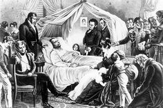 """10 Lesser Known Facts About Napoleon - There are two distinct """"camps"""" which have existed since the moment Napoleon died in 1821. One believes that Napoleon was poisoned with arsenic, probably by Count Montholon. The other camp accepts the autopsy findings, signed by no fewer than seven doctors in attendance, that state Napoleon died from stomach cancer."""