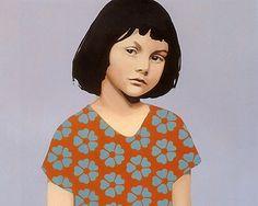 Alice Liddell oil painting