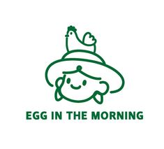 egg in the morning - 브랜딩/편집, 일러스트레이션 Web Design, Japan Design, Icon Design, Food Logo Design, Best Logo Design, Self Branding, Logo Branding, Branding Design, Design Logos