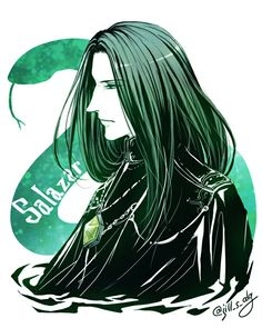 What Salazar Slytherin will look like in an anime.