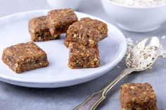 Vegan Raw Cranberry Coconut Bars Recipe. Use our sprouted almonds.