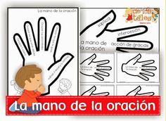 La mano de la oración