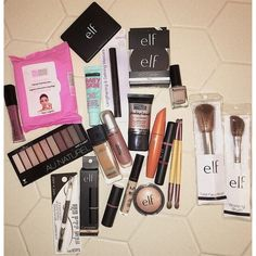 These products are absolutely amazing for creating a basic makeup kit from drugstore makeup! E.L.F. is obviously my number one go-to brand for very affordable drugstore makeup! #ShopStyleCollective #drugstoremakeupkit #afflink