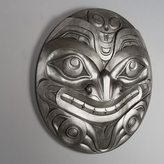 Pewter Bear limited edition Forton panel by Haida artist Don Yeomans