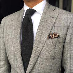 Class-Luxury-Desire — danielmeul: #ootd #classic grey Prince of Wales...