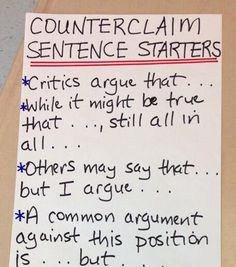 examples of argumentative research papers