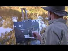 Inside the artist's studio with Andrew Macara - YouTube