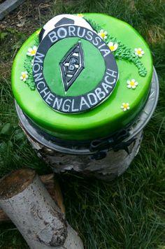 Borussia Mönchengladbach Torte Fußballtorte