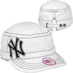 NY Yankees women hat
