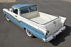 1957 Ford Ranchero....Re-pin...Brought to you by #CarInsurance at #HouseofInsurance in Eugene, Oregon