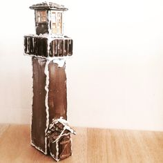 Lighthouse, balsa, wood