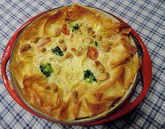 Een vegetarische broccoli-brie quiche van filodeeg. De crunchy korst verstopt een aantal prachtige smaakgeheimen. Probeer ook eens met geitenkaas.