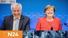 N24 Nachrichten - Angela Merkel und Horst Seehofer setzen im Wahlkampf auf Steuersenkungen - YouTube