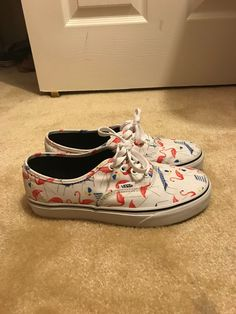 e9785b862c Cool item: Flamingo Vans Vans Authentic, Cool Items, Flamingo, Greater  Flamingo,