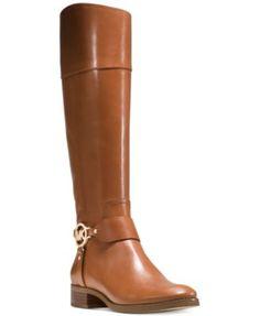 MICHAEL Michael Kors Fulton Harness Tall Riding Boots   macys.com