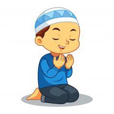 Moslem boy praying vector image on VectorStock Cute Cartoon Characters, Cartoon Posters, Cartoon Styles, Cartoon People, Cartoon Kids, Jesus Cartoon, Boy And Girl Cartoon, Islamic Cartoon, Kids Vector