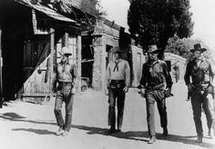 Lee Van Cleef, Ian MacDonald, Robert J. Wilke, and Sheb Wooley in High Noon Sheb Wooley, Lloyd Bridges, Suspense Movies, Orange Quotes, Lee Van Cleef, Sundance Kid, The Magnificent Seven, Gary Cooper, Music Hits