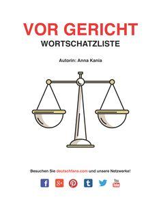 Heute könnt ihr einen neuen #Wortschatz aus dem Bereich <Justiz> lernen. Mehr in dem verlinkten Beitrag.