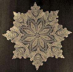 New Crochet Doily Pattern Grandma Jones Leaves Fruit | eBay