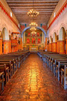 Mission San Juan Bautista founded in 1797, San Juan Bautista, #California
