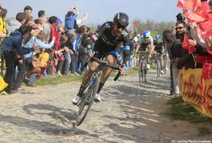 PezCycling News - #Roubaix'14: Many said that he couldn't do it but #SirBradleyWiggins did and in the end he put in a great ride for 9th. Who will be the next #Tour winner to do the same? Pic:CorVos/PezCyclingNews