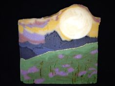Landscape Soap, great soap challenge club design by Fran Bryan