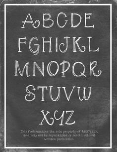 FREE FONTS: etchings in glass set (personal use)FONTS: Free for personal use. If you would like to use one of these fonts in your commercial products for sale, click the Commercial Single Font Chalk Writing, Chalkboard Writing, Chalkboard Fonts, Writing Fonts, Chalkboard Designs, Chalkboard Lettering Alphabet, Kitchen Chalkboard, Cursive Fonts, Chalk Fonts